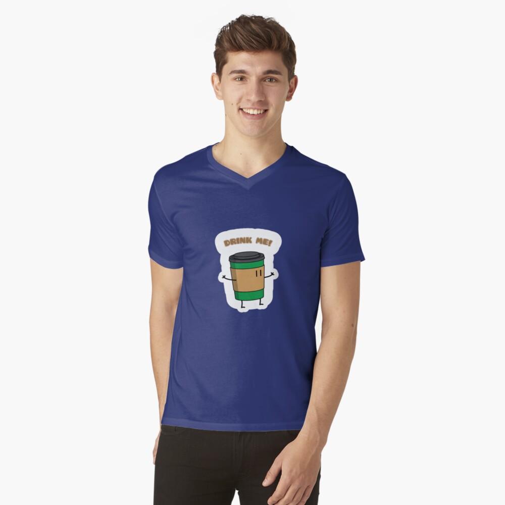 Drink Me! V-Neck T-Shirt