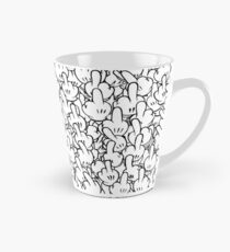 Middle fingers of Mickey Mouse Tall Mug