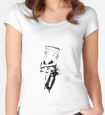 """Despair Chair (5)"" Clothing Women's Fitted Scoop T-Shirt"