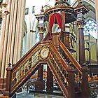 Pulpit in St Salvatore, Bruges by Graeme  Hyde