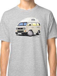 VW T25 / T3 [SQ] (High Top) White Classic T-Shirt