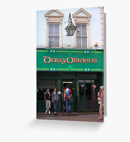 Daisy O'Briens Greeting Card