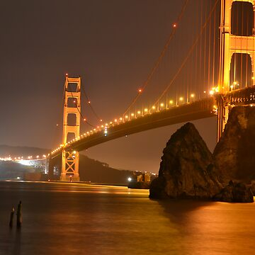 The Mighty Golden Gate by BaldUgly1