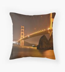 The Mighty Golden Gate Throw Pillow