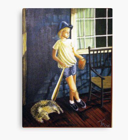 BOY LIKE BRENT Canvas Print