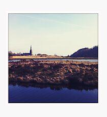Wards Reservoir, Belmont Photographic Print