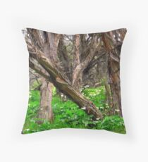 Capel Cemetery Grounds WesternAustralia Throw Pillow