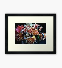 """A Bouquet for You ...."" Framed Print"