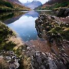 River Etive towards Ben Starav  by David Mould