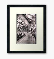 Abstract Bridge Framed Print