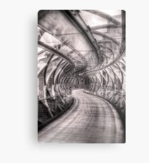 Abstract Bridge Metal Print