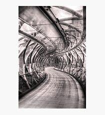 Abstract Bridge Photographic Print
