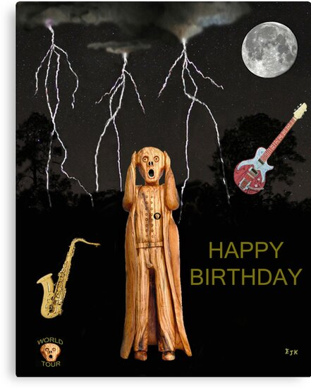 The Scream World Tour  Scream Rocks Happy Birthday by Eric Kempson