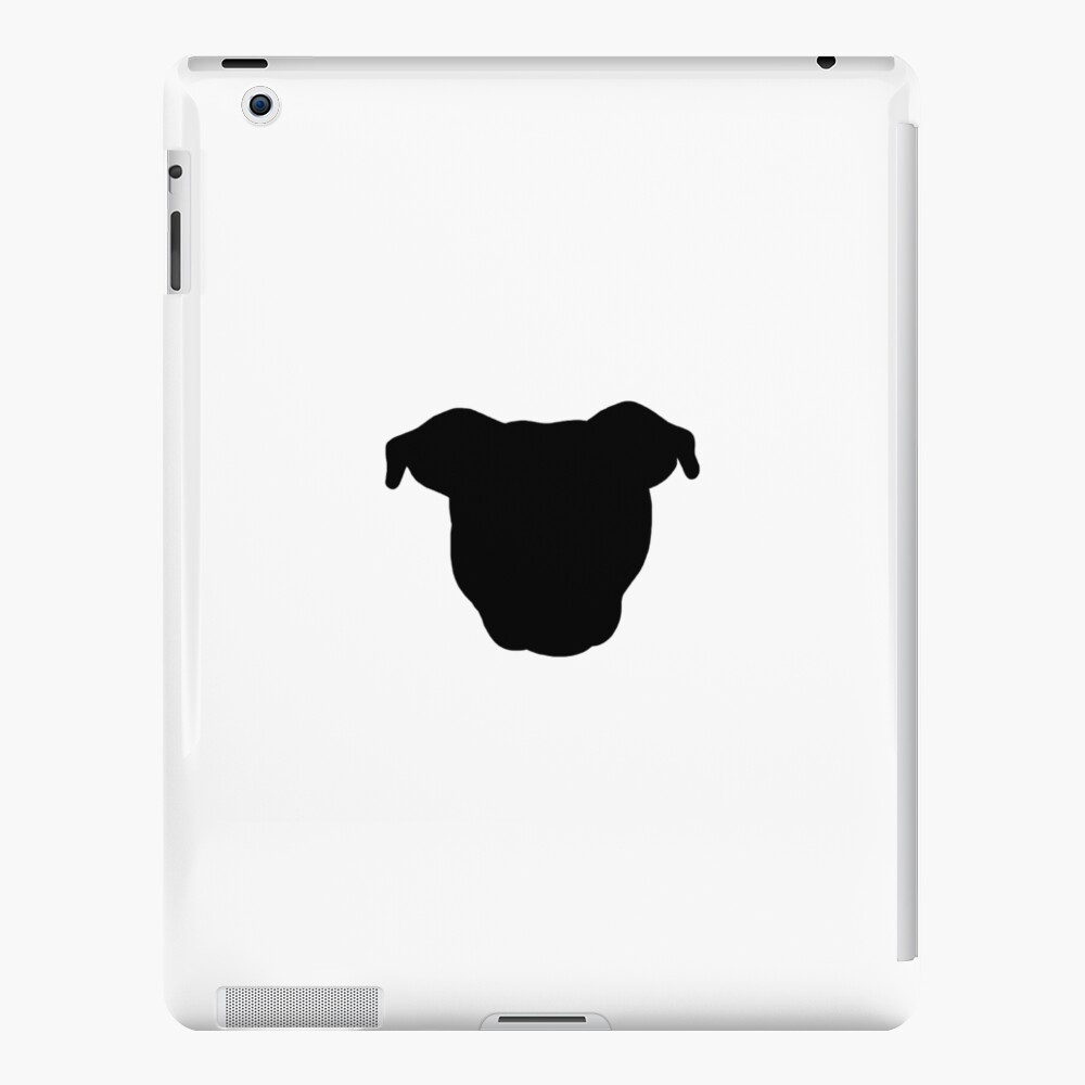 Black Pittie iPad Case & Skin
