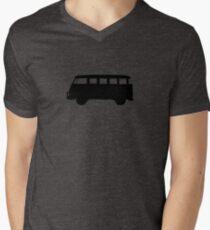 Split window type 2 silhouette Men's V-Neck T-Shirt