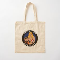 Chicks Dig Coasties - Blonde Hair Cotton Tote Bag