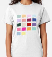 Lover Taylor Swift Lover Album Pantone Track Compilation Classic T-Shirt