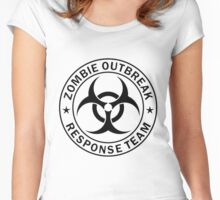 ZOMBIE RESPONSE TEAM  Women's Fitted Scoop T-Shirt