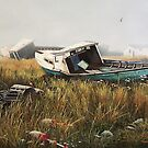 """""""Fishing Relics"""" by Frank Boudreau"""