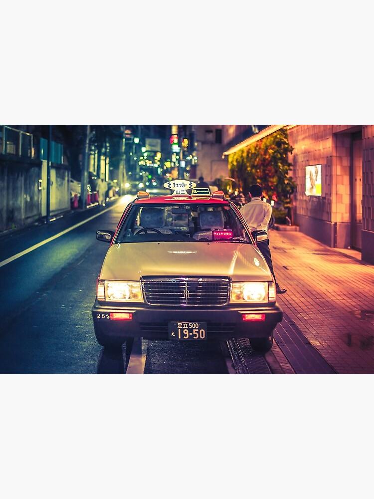 Film Noir Taxi by TokyoLuv