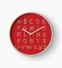 ABC Lollipops Clock