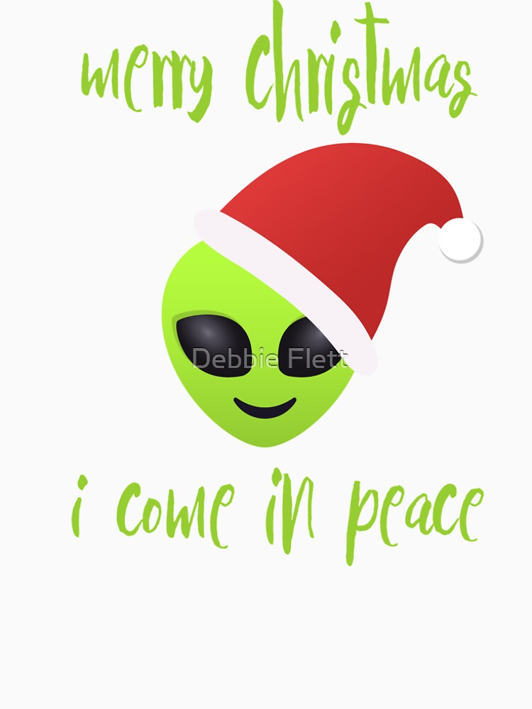 merry christmas, i come in peace by lucythecow