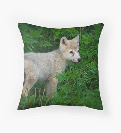 Young Pup  Throw Pillow
