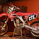 Motocross bike by Fred Taylor