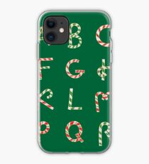 Christmas ABC Lollipops  iPhone Case