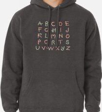 Christmas ABC Lollipops  Pullover Hoodie