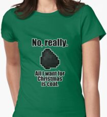 Minecraft - Christmas Coal T-Shirt