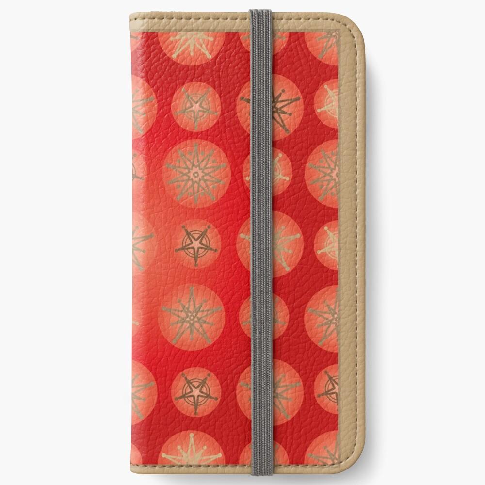 Christmas - Golden Stars iPhone Wallet
