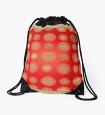 Christmas - Golden Stars Drawstring Bag