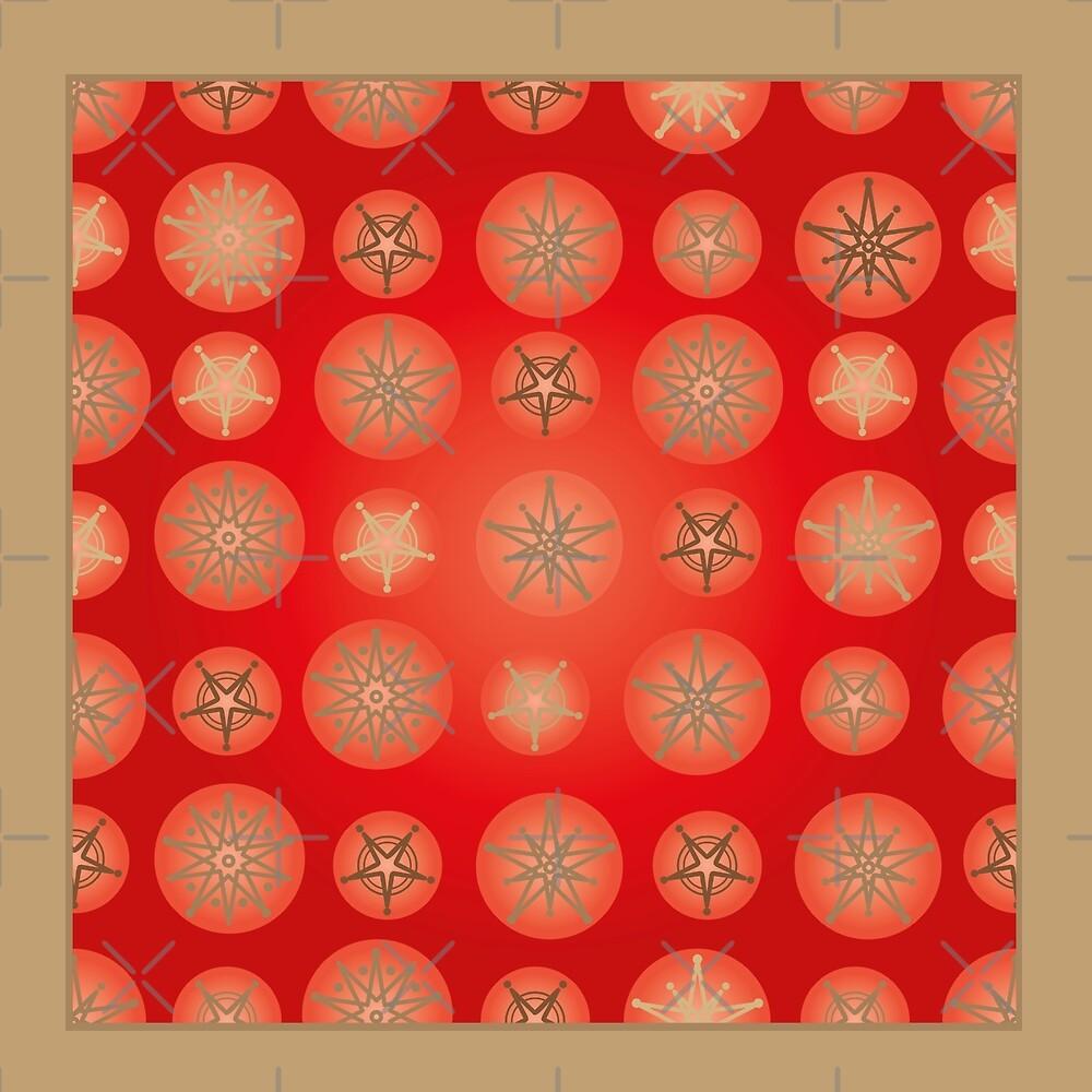 Christmas - Golden Stars by rusanovska
