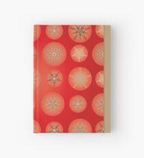 Christmas - Golden Stars Hardcover Journal