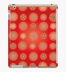 Christmas - Golden Stars iPad Case/Skin
