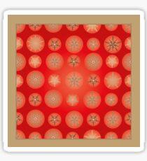 Christmas - Golden Stars Sticker