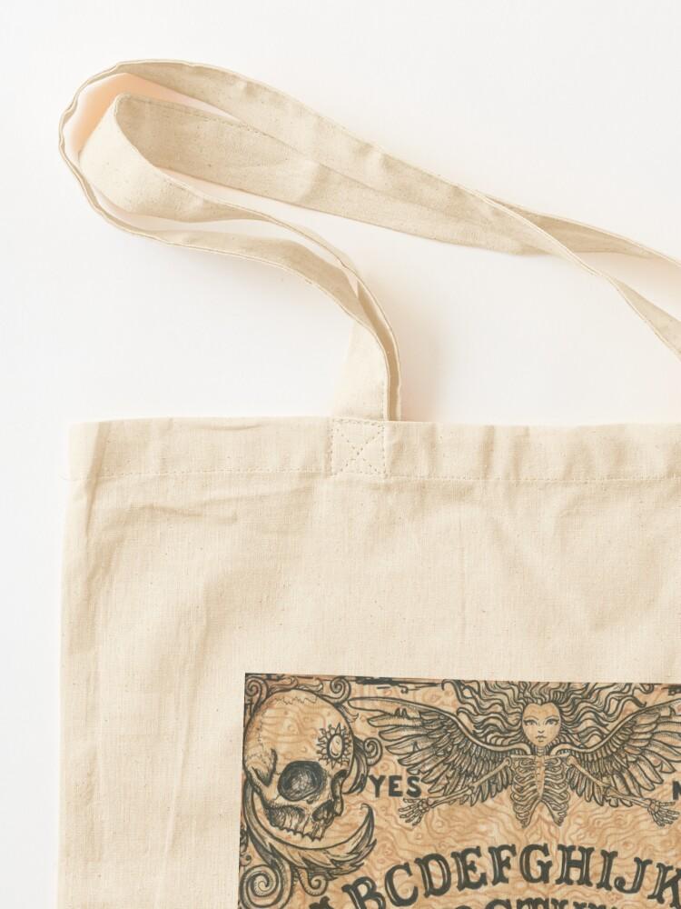 Alternate view of Angel of Death Ouija Board Tote Bag