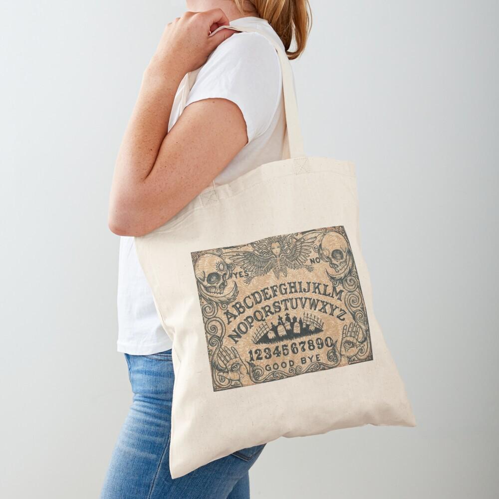 Angel of Death Ouija Board Tote Bag