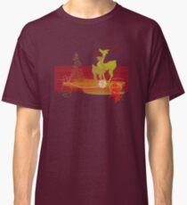 Winter Couple Deer Classic T-Shirt