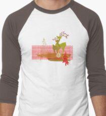 Winter Couple Deer Baseball ¾ Sleeve T-Shirt