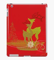 Winter Couple Deer iPad Case/Skin