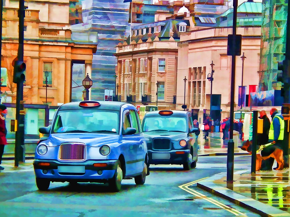 Taxi!!!!!!!!!!!!!!!!!!!! by ElsieBell