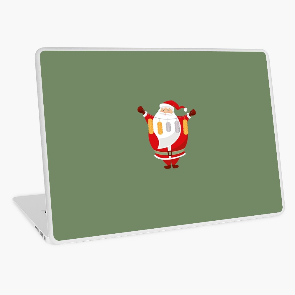 Lucky Santa Claus Laptop Skin