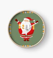 Lucky Santa Claus Clock