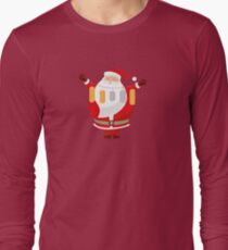 Lucky Santa Claus Long Sleeve T-Shirt