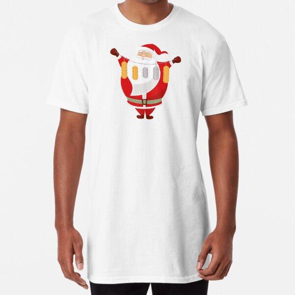 Lucky Santa Claus Long T-Shirt