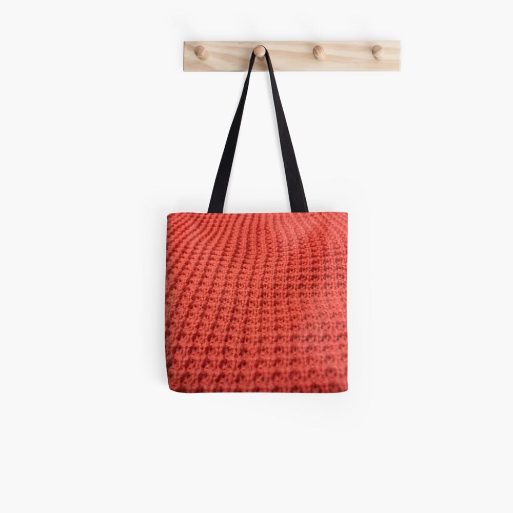 Orange yarn  Tote Bag