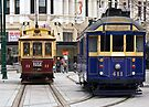 Christchurch Trams by Odille Esmonde-Morgan