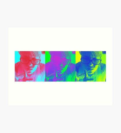 Color Me Art Print